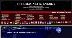 Preview of freemagneticenergy.info