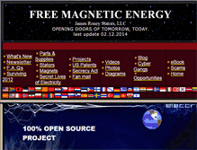 Tablet Preview of freemagneticenergy.info